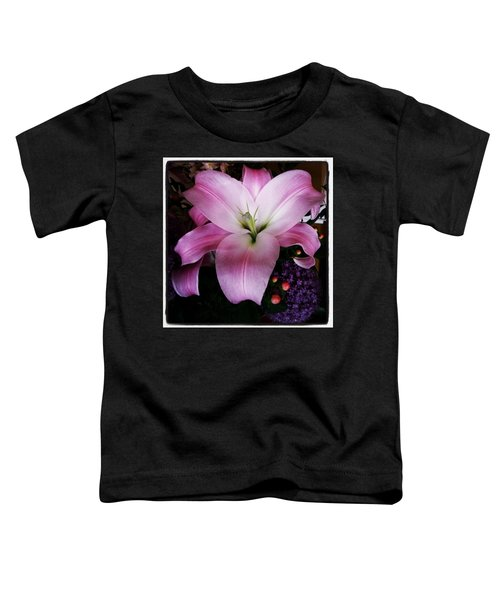 Toddler T-Shirt featuring the photograph Gorgeous Flowers. Real. I Think They by Mr Photojimsf