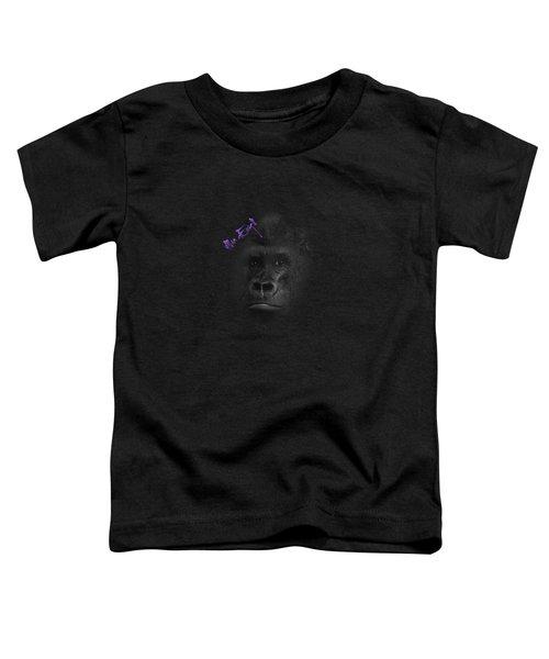 Gorilla Toddler T-Shirt by iMia dEsigN