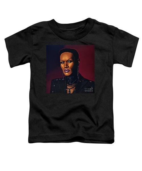 Grace Jones Toddler T-Shirt