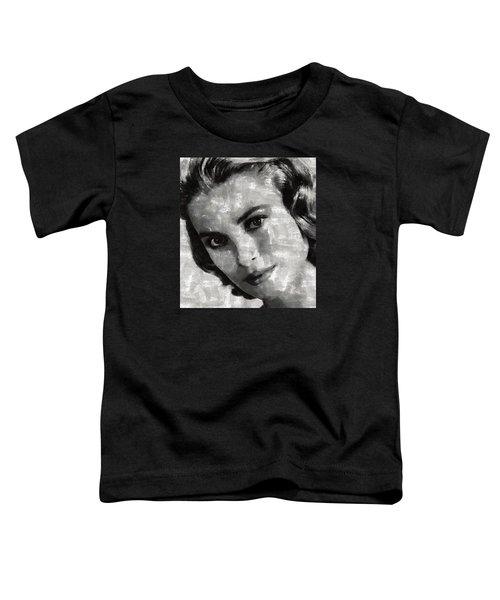 Grace Kelly Toddler T-Shirt by Mary Bassett