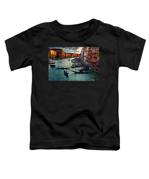 Grand Canal Sunset Toddler T-Shirt