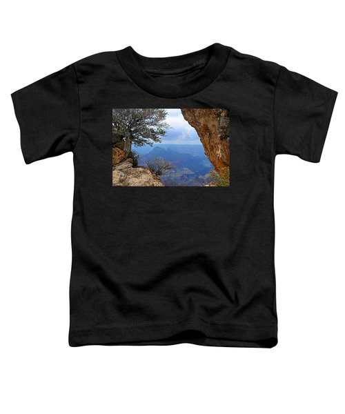 Grand Canyon North Rim Window In The Rock Toddler T-Shirt
