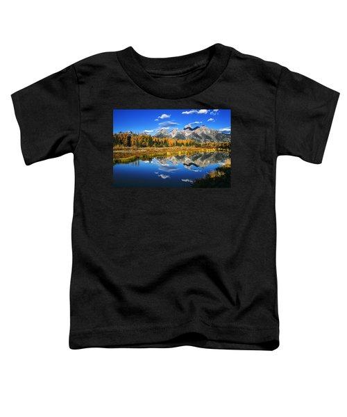 Grand Teton Autumn Beauty Toddler T-Shirt