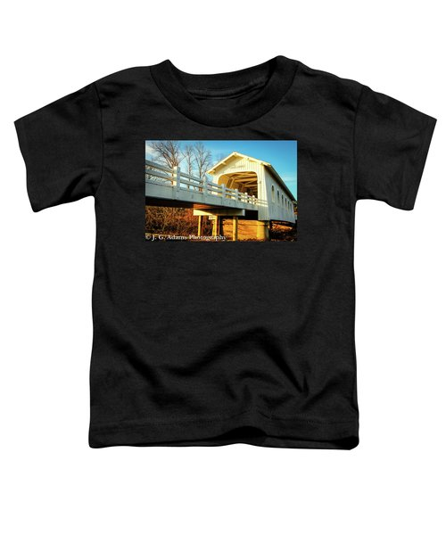 Grave Creek Covered Bridge Toddler T-Shirt