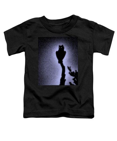 Great Horned Owl In The Desert 4 Toddler T-Shirt