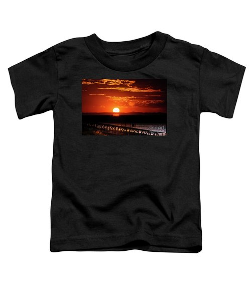 Great Salt Lake Sunset Toddler T-Shirt