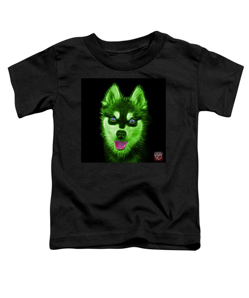 Green Alaskan Klee Kai - 6029 -bb Toddler T-Shirt