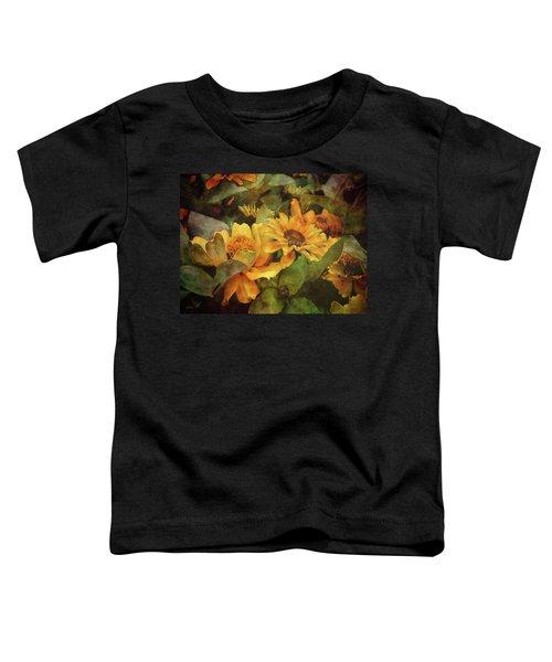 Green And Gold 1068 Idp_2 Toddler T-Shirt