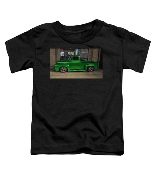 Green Car Toddler T-Shirt
