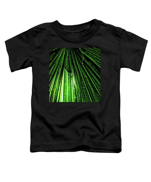 Green Leaf Forest Photo Toddler T-Shirt