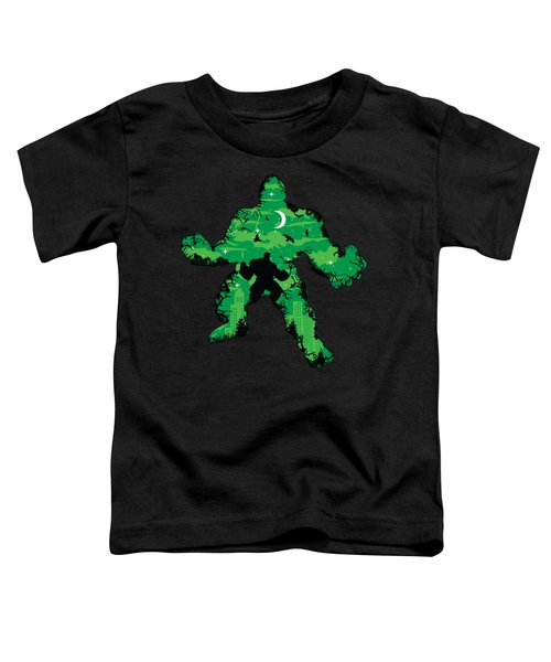 Green Monster Toddler T-Shirt