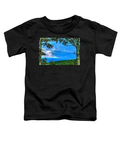 Green Mountain Storm Toddler T-Shirt