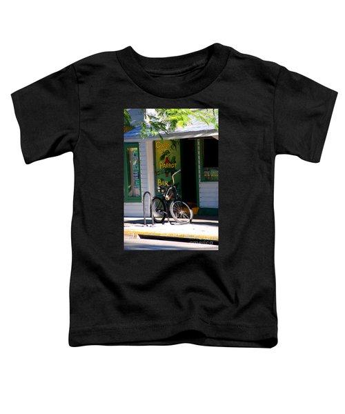 Green Parrot Bar Key West Toddler T-Shirt