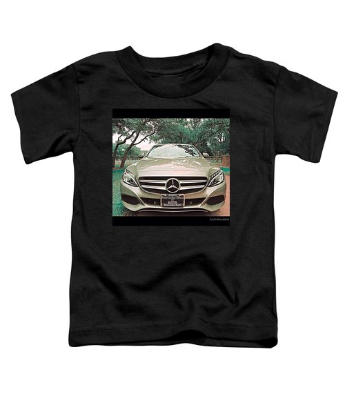 #grey #sky And A #silver Grey #car Toddler T-Shirt