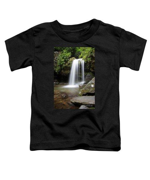 Grotto Falls Vertical Toddler T-Shirt