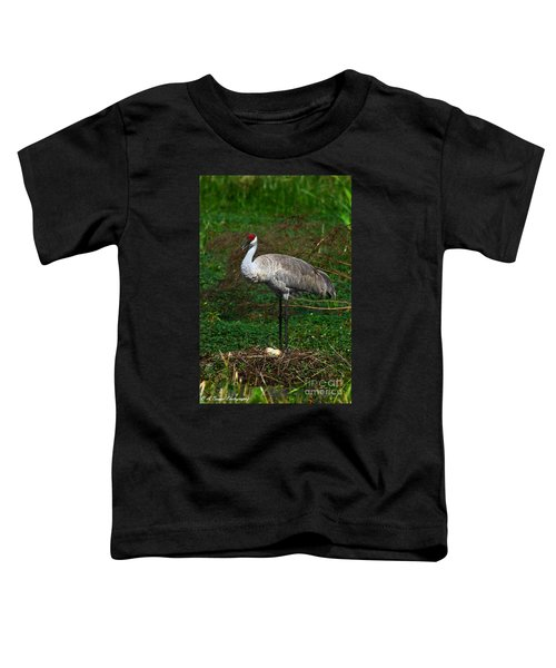 Guarding The Nest Toddler T-Shirt