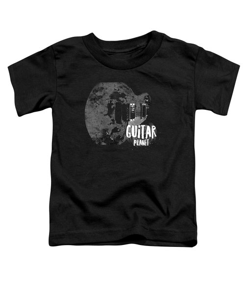 Toddler T-Shirt featuring the photograph Guitar Planet  by Guitar Wacky