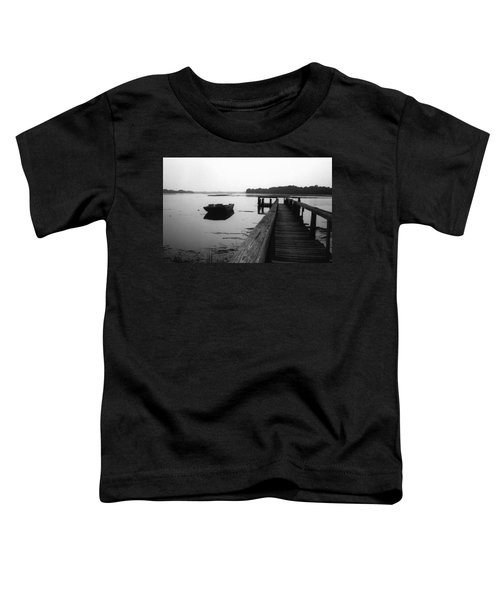 Gullah Coast Bateau Bw Toddler T-Shirt