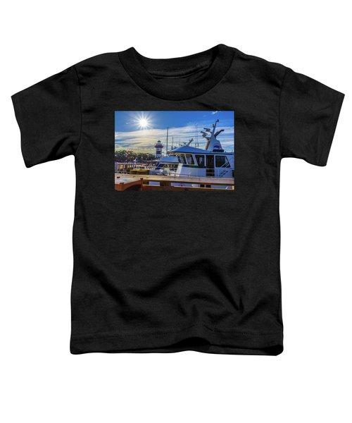 Habour Town Lighthouse And Marina Toddler T-Shirt