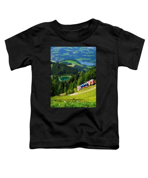 Hahnenkamm - Kitzbuehel Toddler T-Shirt