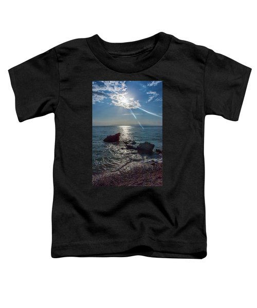 Haitian Beach In The Late Afternoon Toddler T-Shirt