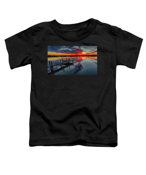 Halifax River Sunset Toddler T-Shirt