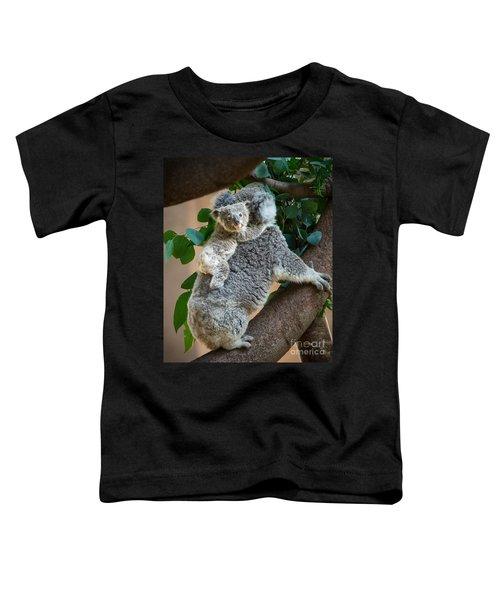 Hanging On Toddler T-Shirt by Jamie Pham