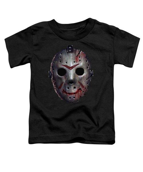 Happy Friday Mask Toddler T-Shirt