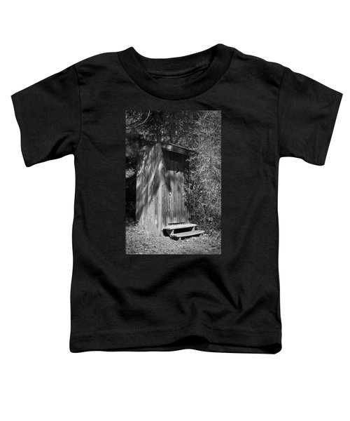 Happy Hollow Outhouse Toddler T-Shirt