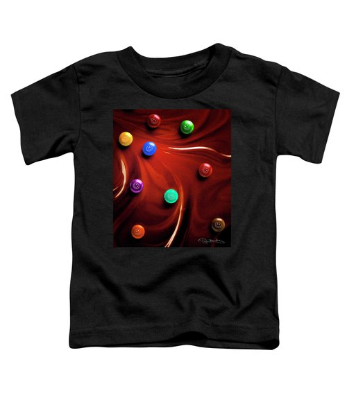 Happy In Chocolate Toddler T-Shirt