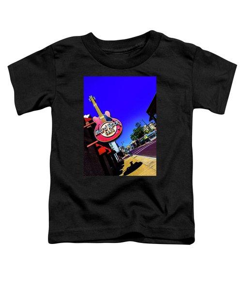 Hard Rockin On Beale Toddler T-Shirt