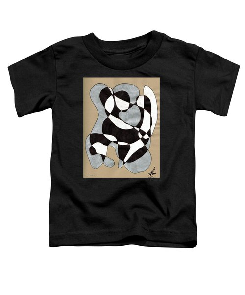 Harlequin Abtracted Toddler T-Shirt