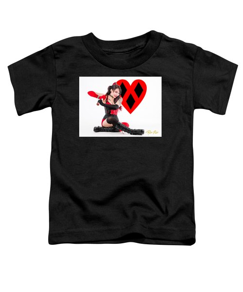 Harley Quinn Ready To Swing Toddler T-Shirt
