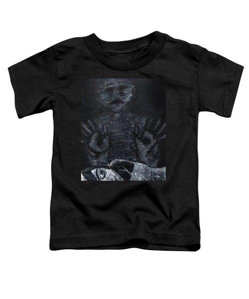 Haunted Toddler T-Shirt by Teresa Wing