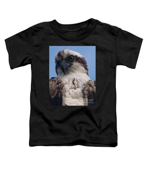 Hawk Profile Toddler T-Shirt
