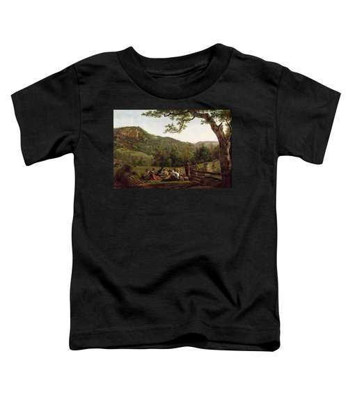 Haymakers Picnicking In A Field Toddler T-Shirt