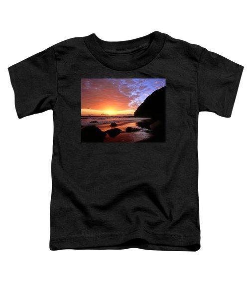 Headlands At Sunset Toddler T-Shirt