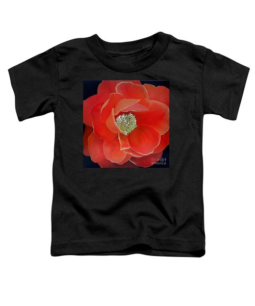 Heart-centered Rose Toddler T-Shirt