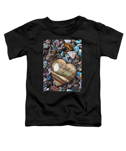 Heart Stone Toddler T-Shirt