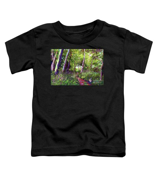 Heavenly Walk Among Birch And Aspen Toddler T-Shirt