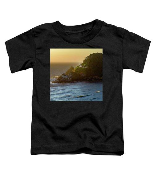 Heceta Head Lighthouse At Sunset Toddler T-Shirt