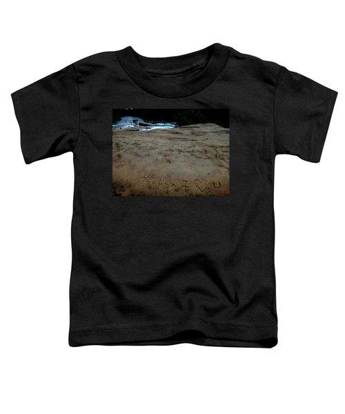 Hello I Heart U Toddler T-Shirt