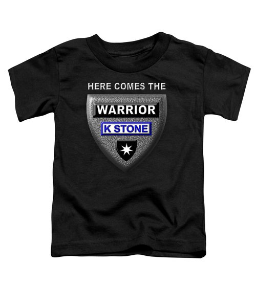 Here Comes The Warrior Toddler T-Shirt