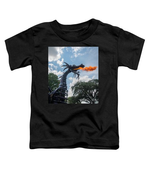 Here There Be Dragons Toddler T-Shirt