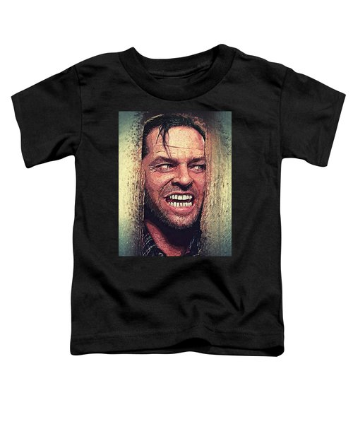 Here's Johnny - The Shining  Toddler T-Shirt