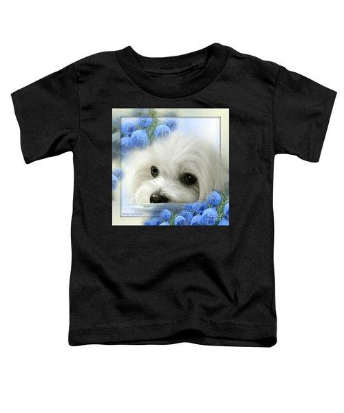 Hermes In Blue Toddler T-Shirt