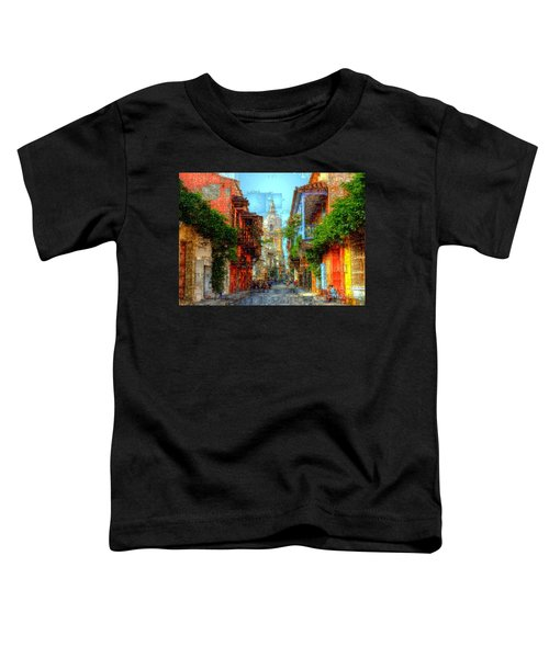Heroic City, Cartagena De Indias Colombia Toddler T-Shirt