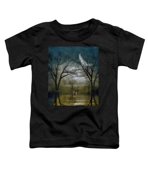 Heron By Moon Glow  Toddler T-Shirt