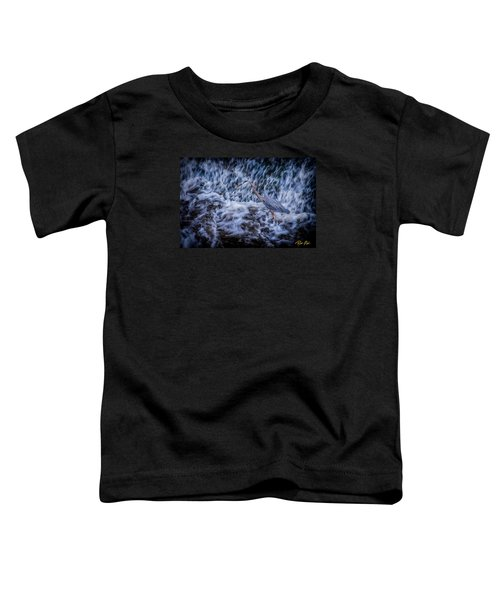 Toddler T-Shirt featuring the photograph Heron Falls by Rikk Flohr