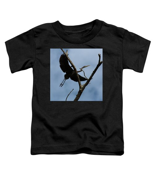 Heron Flight Toddler T-Shirt